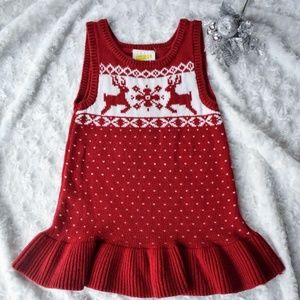 Crazy 8 Holiday Gifts Fair Isle Dress